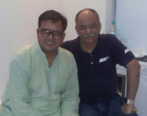With Famous Film Director -- MR SANJIVAN LAL