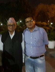 Nepal ambassador Deep Kumar Upadhyay