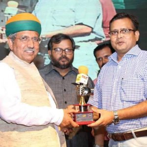 Astrologer Award by Arjun Ram Meghwal