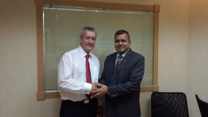 Mr Keeth CEO ,UAE