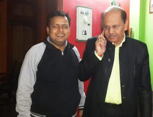 Additional commissioner B.S.Gujjar