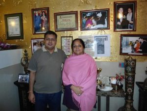 Dr. Aruna Jha Food queen Macau